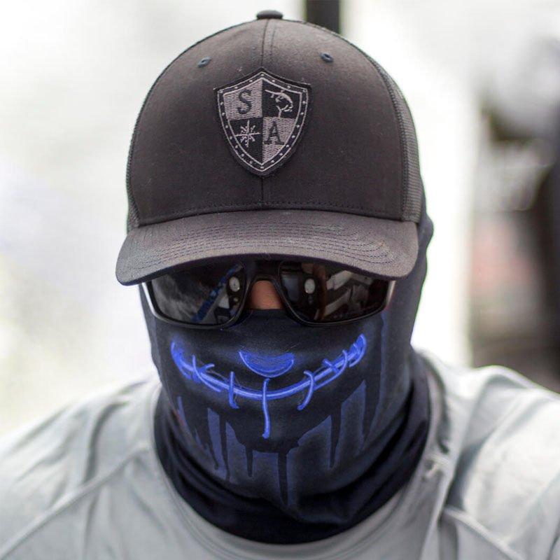 Sa Co Face Shield Neon Purge Blue Milworld