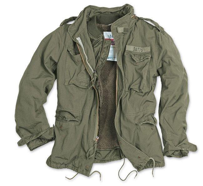 Surplus M65 Jacket Regiment 2in1 US Army Olive  2792e74e4e1
