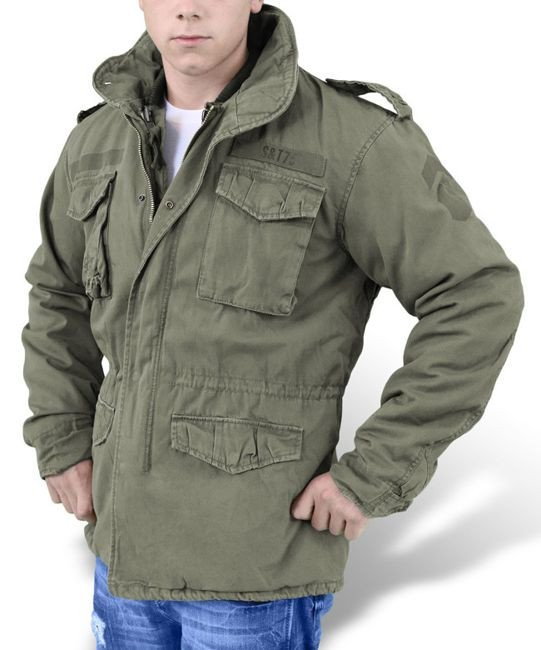 ... Surplus M65 Jacket Regiment 2in1 US Army Olive ... 90b50df4156