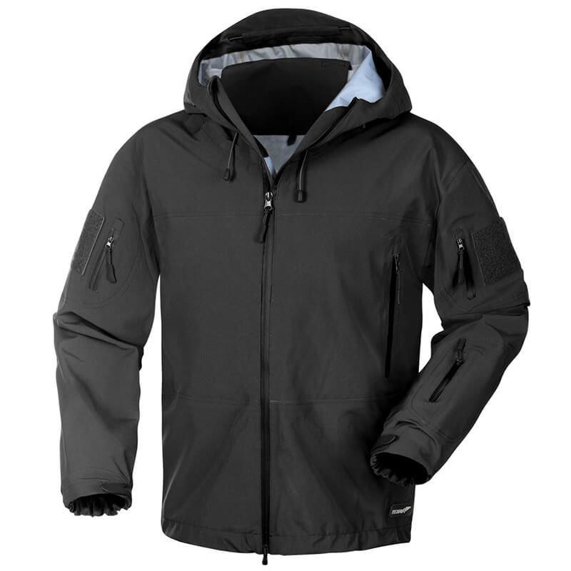 Texar Hardshell Tactical Jacket Comodo Black Milworld