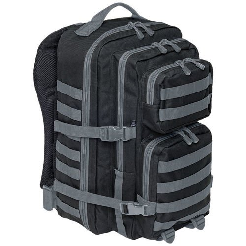 Brandit Backpack US Cooper 2-color 40L MOLLE Black-Graphite