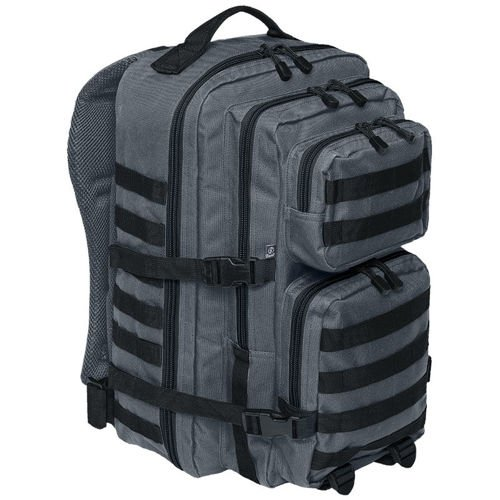 Brandit Backpack US Cooper 2-color 40L MOLLE Graphite-Black