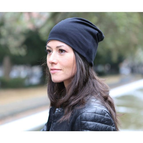 Brandit Double-sided Beanie Jersey Cap Bicolor Black-Grey