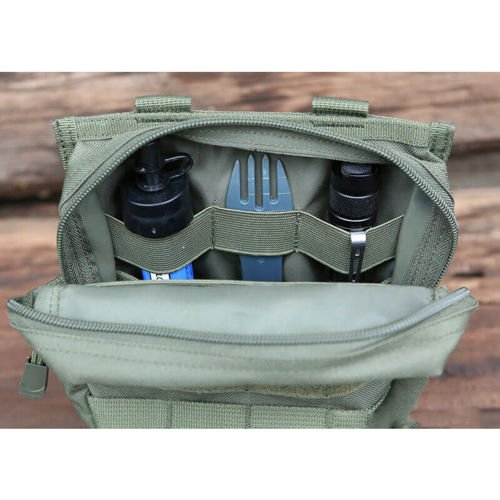 Brandit Molle Pouch Cross Olive