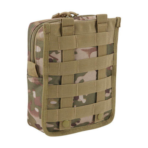 Brandit Molle Pouch Cross Tactical Camo