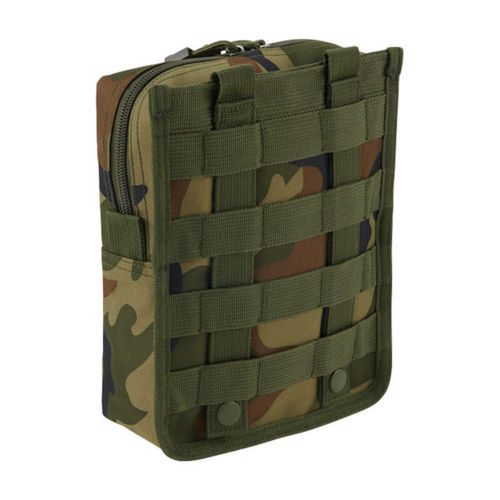 Brandit Molle Pouch Cross Woodland