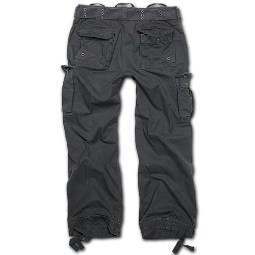 Brandit Royal Vintage Combat Trousers Black