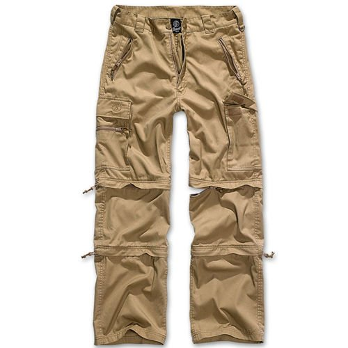 Brandit Savannah 3in1 Trekking Trousers Camel