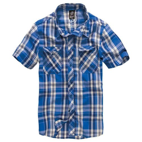 Brandit Short Sleeve Roadstar Shirt 1/2 Blue
