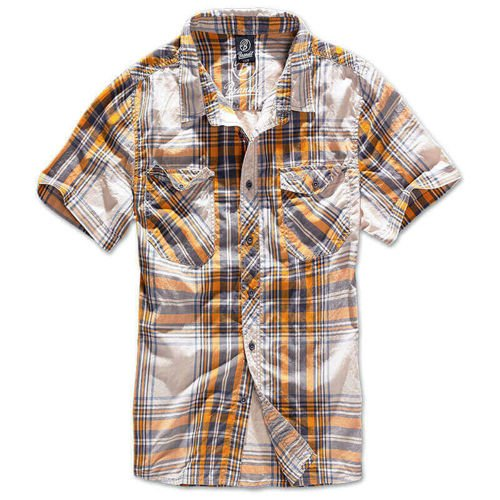 Brandit Short Sleeve Roadstar Shirt 1/2 Sand