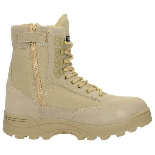 Brandit Thinsulate One Zipper Tactical Boots Khaki