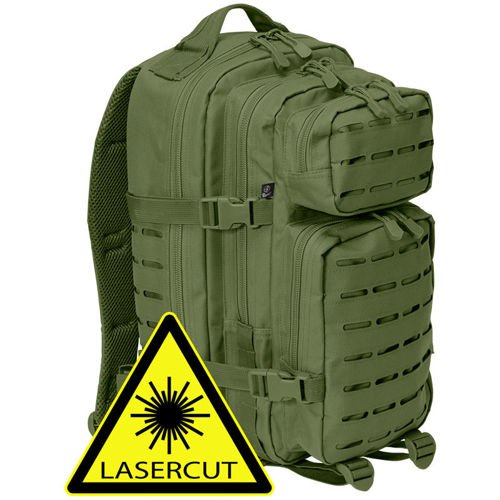 Brandit US Cooper Laser Cut Tactical Backpack 25L Olive Drab