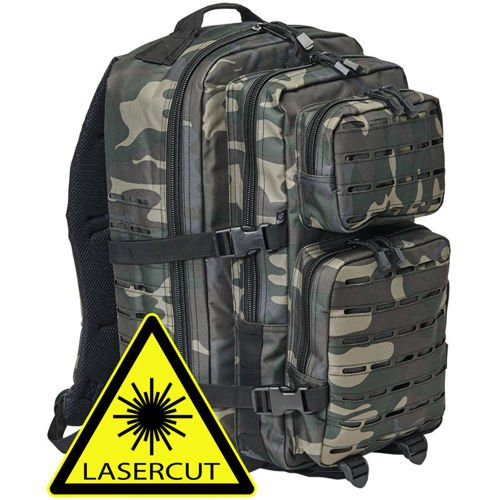 Brandit US Cooper Laser Cut Tactical Backpack 40L Dark Camo