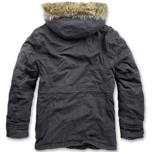 Brandit Vintage Explorer Winter Jacket Black