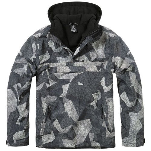 Brandit Windbreaker Jacket Night Camo Digital