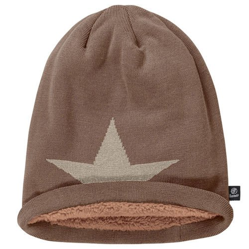 Brandit Winter Beanie Star Beige