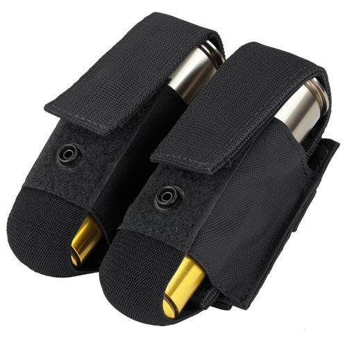 Condor 40mm Double Tactical Pouch Black
