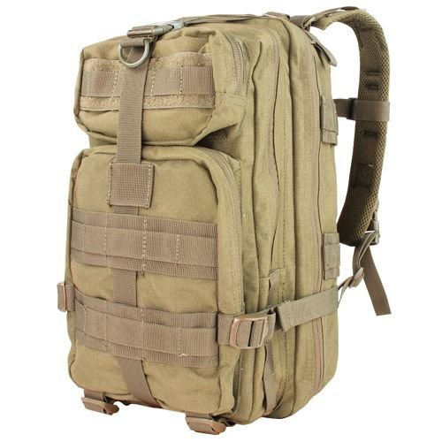 Condor Compact Tactical Assault Backpack 22L Coyote