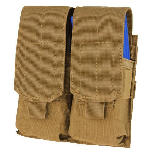 Condor Double M4 Mag Pouch Coyote Brown