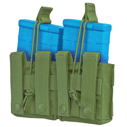 Condor Double Open-Top M14 Mag Pouch Olive