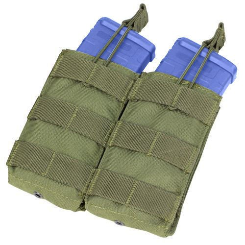 Condor Double Open-Top M4/M16 Mag Pouch Olive