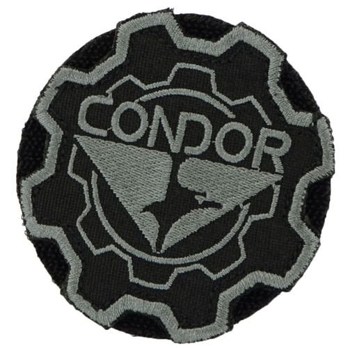 Condor Gear Logo Patch Black