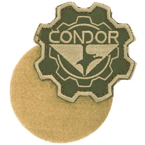 Condor Gear Logo Patch Coyote