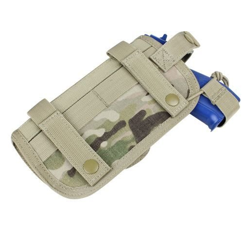 Condor Horizontally Mounted HT Holster MultiCam