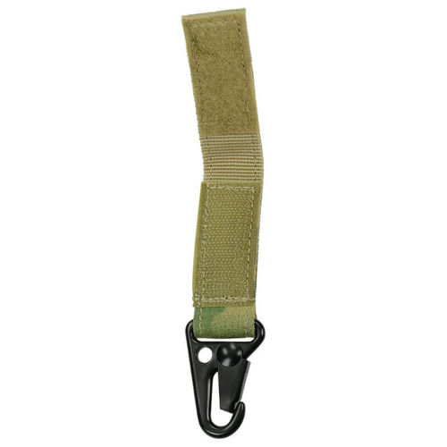 Condor Keychain Blood Type A RH- Multicam