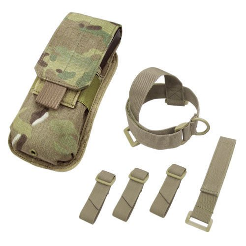 Condor Buttstock Mag Pouch MultiCam