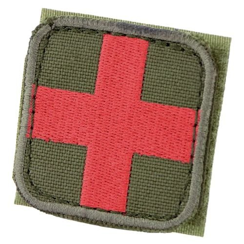 Condor Medical Cross Patch Olive
