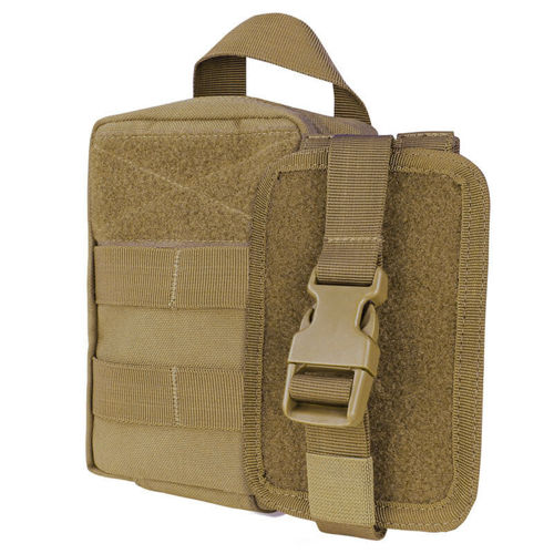 Condor Medical Equipment Pouch Rip Away EMT Lite Coyote Brown