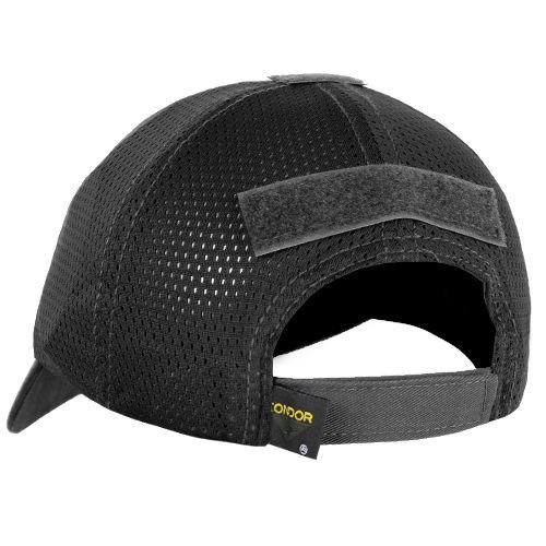 Condor Mesh Tactical Team Cap Black