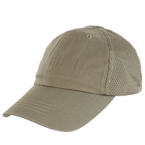 Condor Mesh Tactical Team Cap Coyote