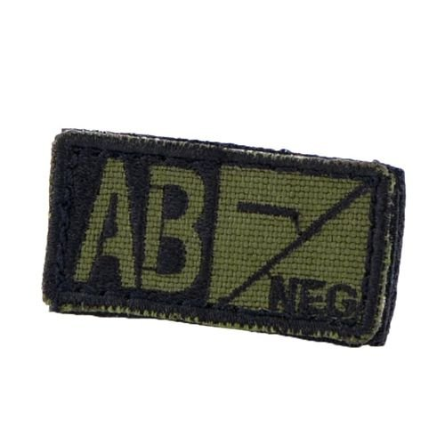 Condor Patch Blood Type AB RH- Olive