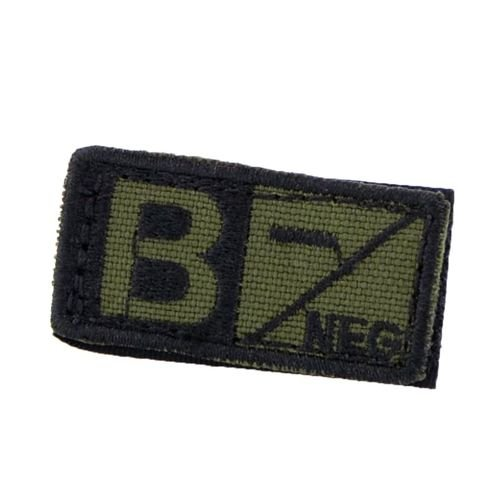 Condor Patch Blood Type B RH- Olive