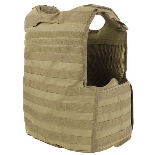 Condor Quick Release Plate Carrier Coyote