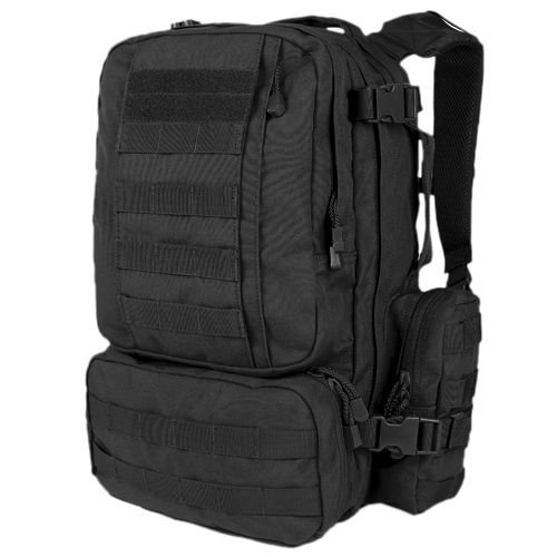Condor Tactical Backpack Convoy Pack 22L Black