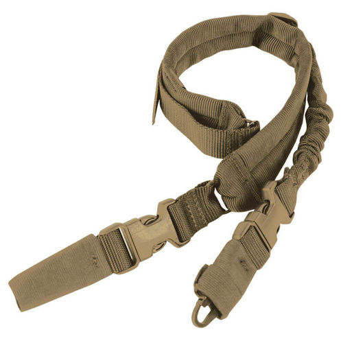 Condor Tactical Sling Swiftlink Padded Bungee Coyote Brown