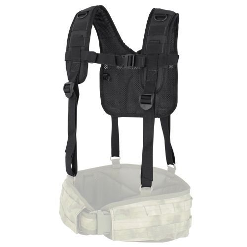 Condor Tactical Suspenders H-Harness Black