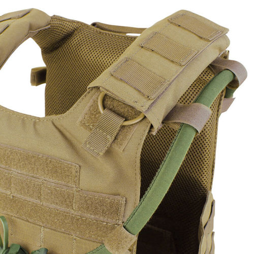 Condor Tactical Vest Gunner Plate Carrier Coyote Brown