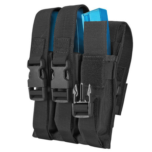 Condor Triple MP5 Mag Pouch Black