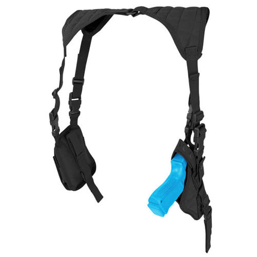 Condor Vertical Shoulder Holster Black