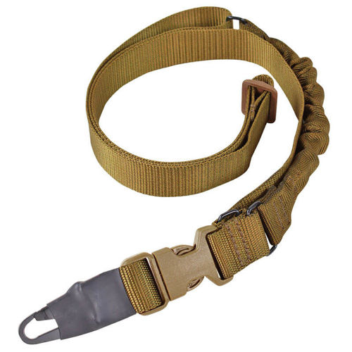 Condor Viper Single Bungee One Point Sling Coyote Brown