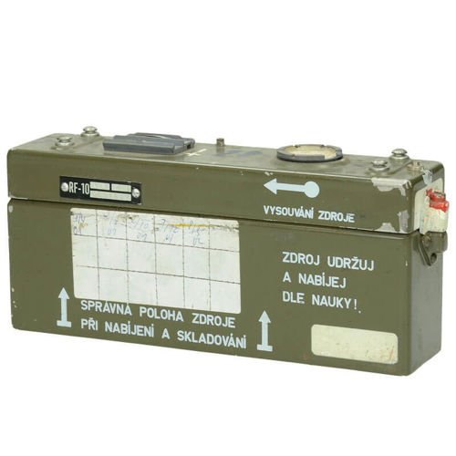 Demobil Battery of the Czechoslovak Army Olive