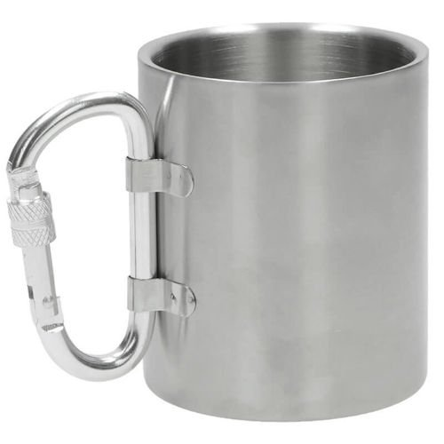Fox Outdoor Double-Walled Cup 300ml Silver