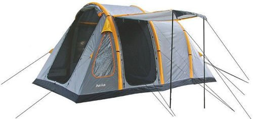 Highlander 4-person Tent Aeolus 4 Blue