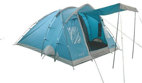 Highlander 4-person Tent Elm 4 Blue