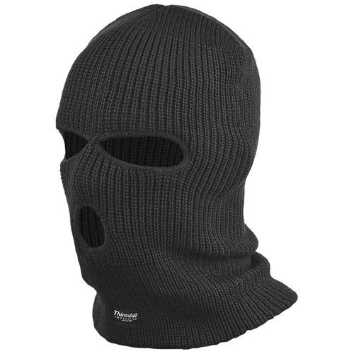 Highlander Balaclavas Thinsulate Black
