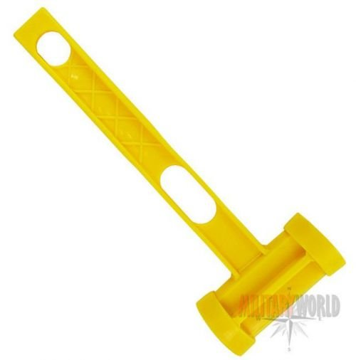 Highlander Camping Hammer Yellow